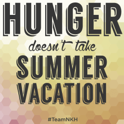 hunger doesnt take summer vacation