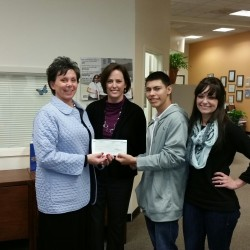 Capital One Bank donation 021715
