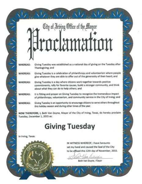 Giving Tuesday Proclamation for web
