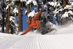 Snowboarder-at lake tahoe