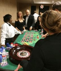 Casino Night 2015 playing roulette