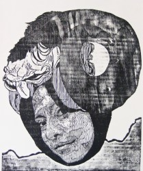 señora matanza IV-xilografia-120cm x100cm-2012