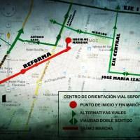 Marchas para hoy martes 21 de enero en la CDMX