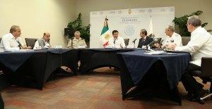 Osorio Chong encabezó reunión del gabinete en Acapulco el pasado 28 de octubre de 2014