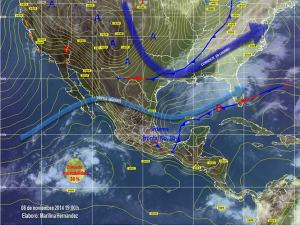 Mapa Conagua 8 de noviembre