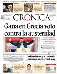 CRONICA 26 ENERO
