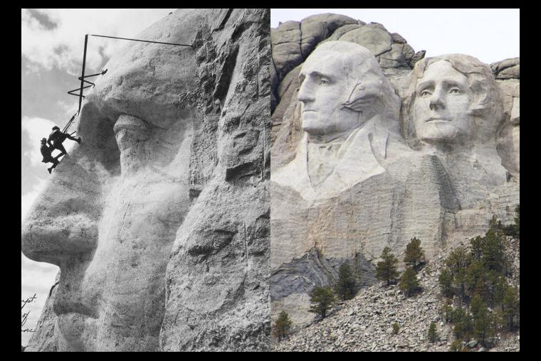 Irving Pineda Monte Rushmore, Estados Unidos