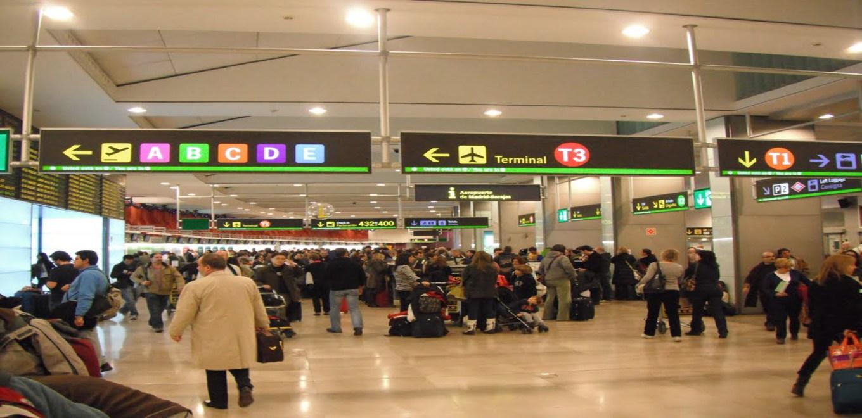 pasajeros aeropuerto