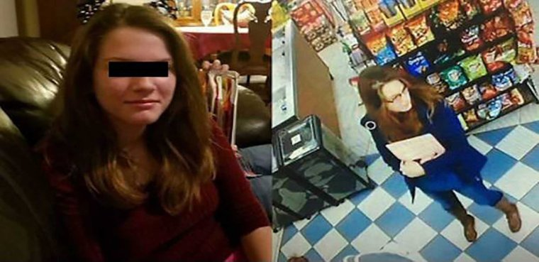 Ashlee N desaparecida en Texas