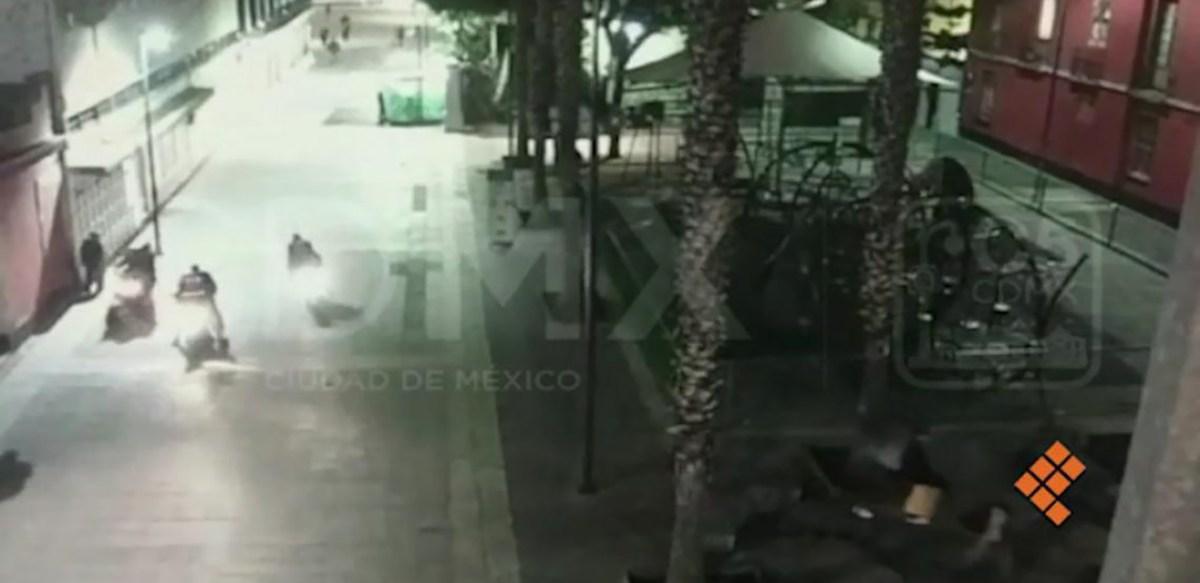 Narcomenudeo, principal línea de investigación de ataque en Garibaldi (video)