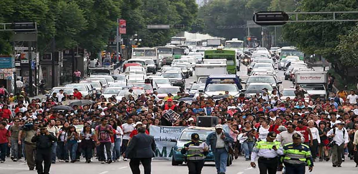 #Marchas y concentraciones para hoy jueves 21 de febrero en la CDMX