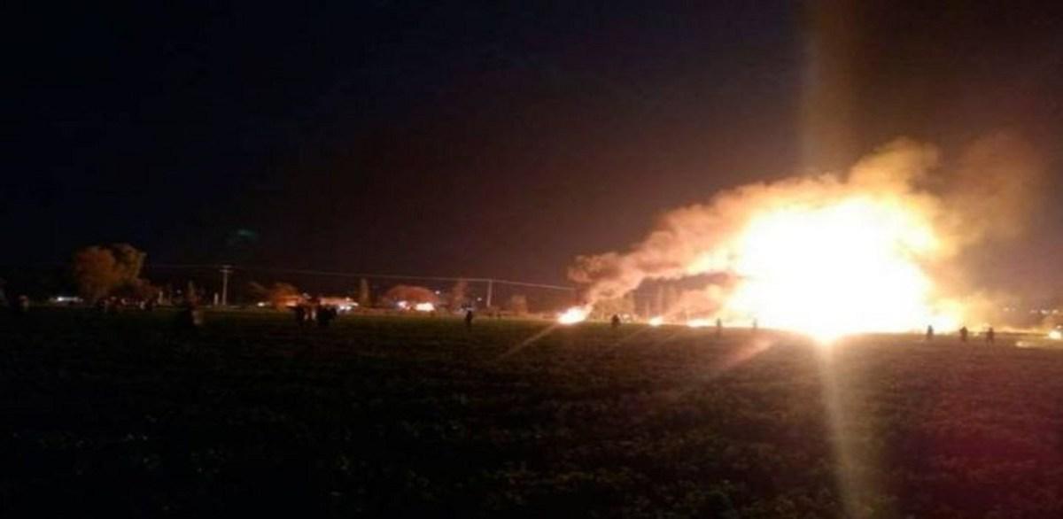 Actualizan cifra de víctimas por explosión en Hidalgo; hasta 65 desaparecidos