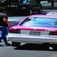 Llega en taxi a robar a la Narvarte