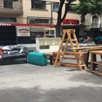 Con contrato vigente y rentas pagadas desalojan a @esecarlo del Edificio Trevi