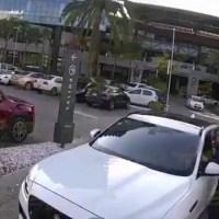 Cuidado con los asaltos al salir de los estacionamientos