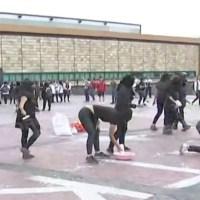 Encapuchados vandalizan la Rectoría de la UNAM