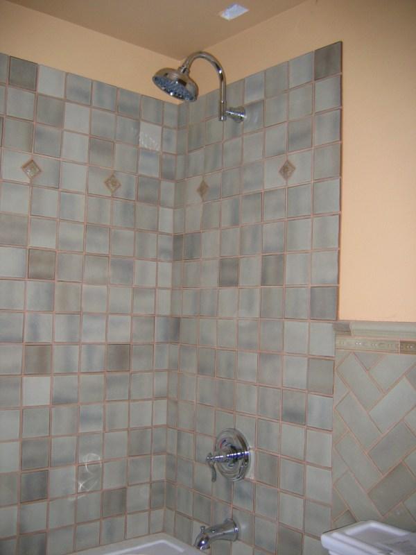 Paint Bathroom Tile Shower Walls