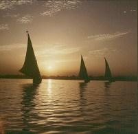 aegypten-highlights-sonnenuntergang-Luxor 1979