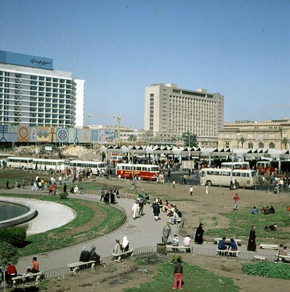 aegypten-highlights-Kairo Tahrirplatz 1978