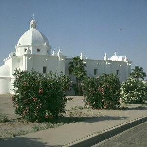 Mexicanische Kirche in Südarizona 1983