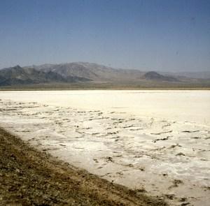 Salzsee vor Palmsprings 1986