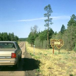 Arizona zqwischen Wald und Wüste 1986