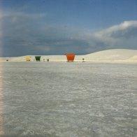 White Sands N.P. Ruhezelte 1983
