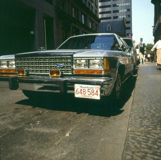 Kühlerprotz in Boston 1988