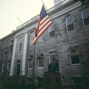 Harvard -voller Traditionen in Boston 1988