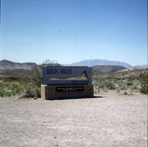 Death-Valley-Nordeinfahrt