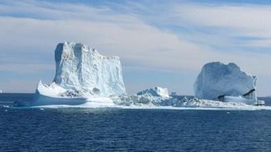 groenland-Zerfall eines Eisberges 2007