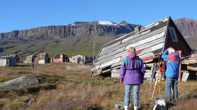 Grönland-Weyer bei Fotoarbeit 2007