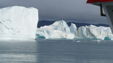 Grönland-Ilulissatgletscherfront 2007