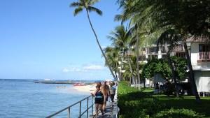 hawaii-Waikiki direkt am Meer 012