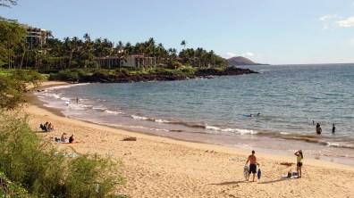 hawaii-reichlich Platz am feinen Sandstrand 028