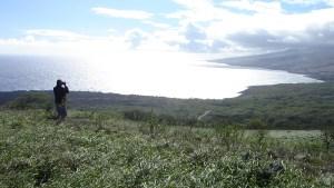 hawaii-Svend-einsame küste soweit das Auge reicht