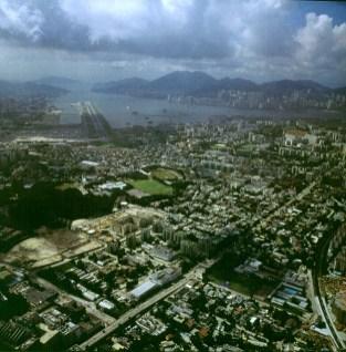 Hongkong-alter Anflug-1997