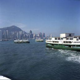 Hongkong-Starferry nach Victoria 1997