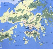 Hongkong-Übersdichtskarte 1997