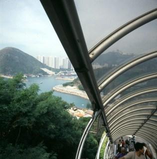 Hongkong-Oceanpark Rolltreppe 1997