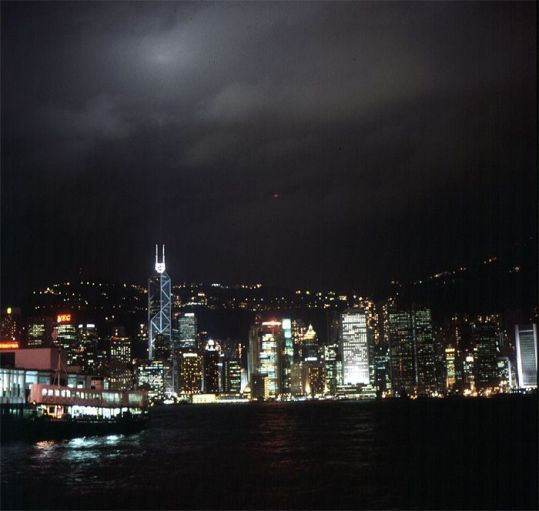 Hongkong-Chinabanktower 1997