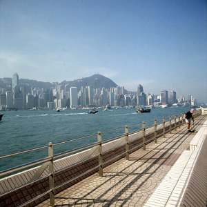 Hongkong-Promenadenreinigung 1997