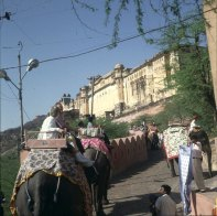 Indien vor Festung Amber 1999
