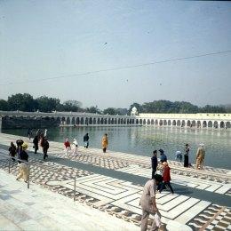 Indien-Delhi-Tempelanlage 1999