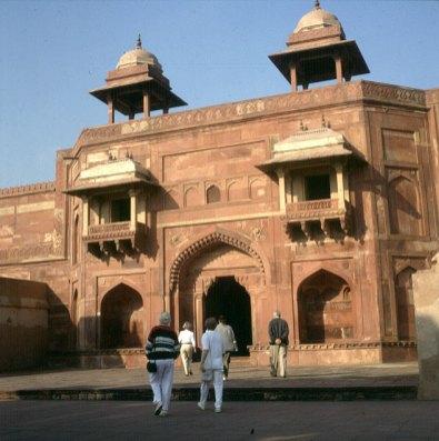 Indien-Fatehpur-Palast 1999