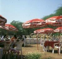 Indien-Fatehpur-Raststätte 1999