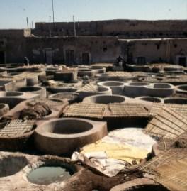 Marokko-Marrakesch - Gerberei 1995