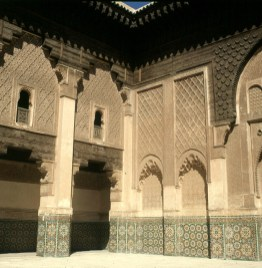 Marokko-Marrakesch Palast 1995