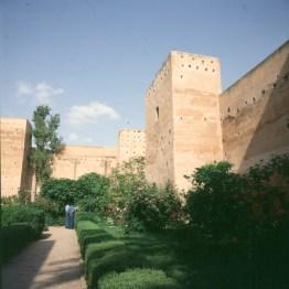 marokko-palast-mauer 1995