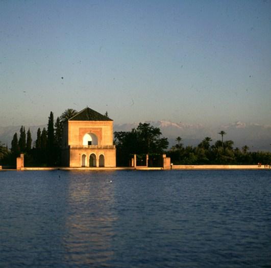 marokko-park-sonnenuntergang 1995